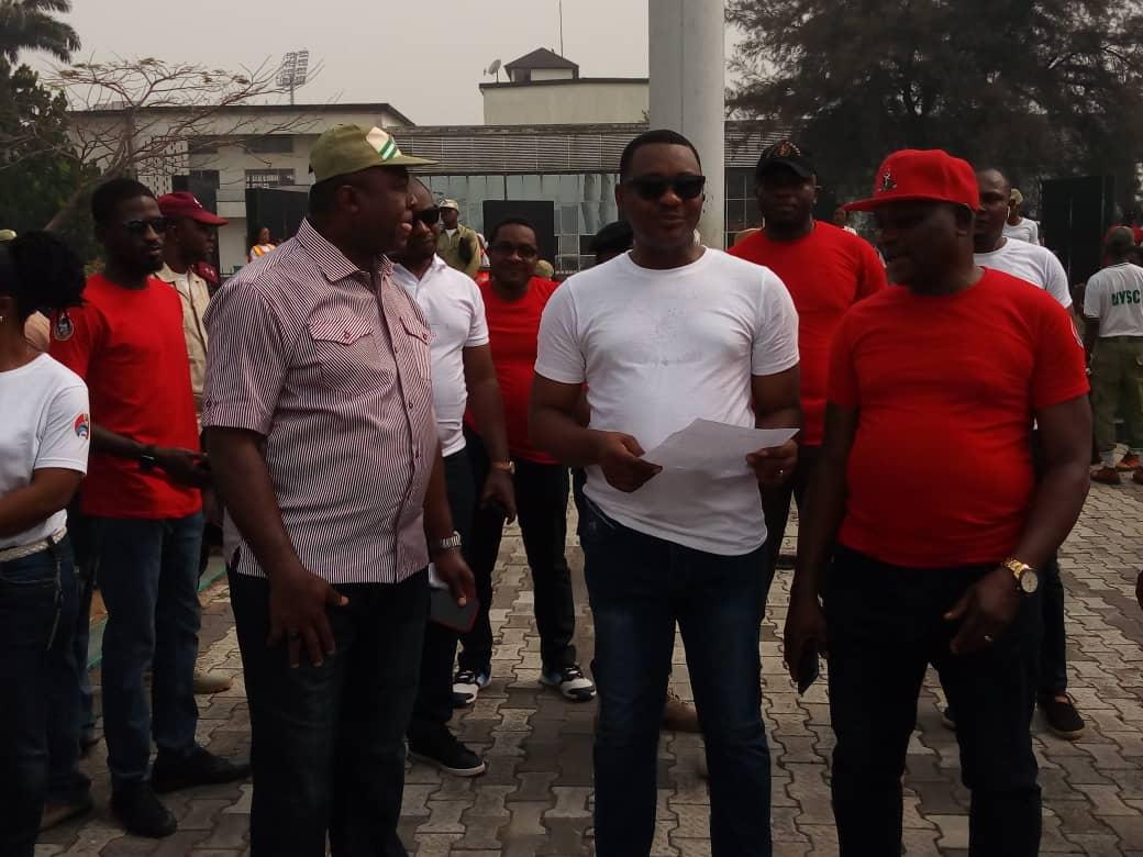 EFCC MAIDEN NATIONAL PUBLIC ENLIGHTENMENT: NIGERIAN YOUTHS WALK AGAINST CORRUPTION.