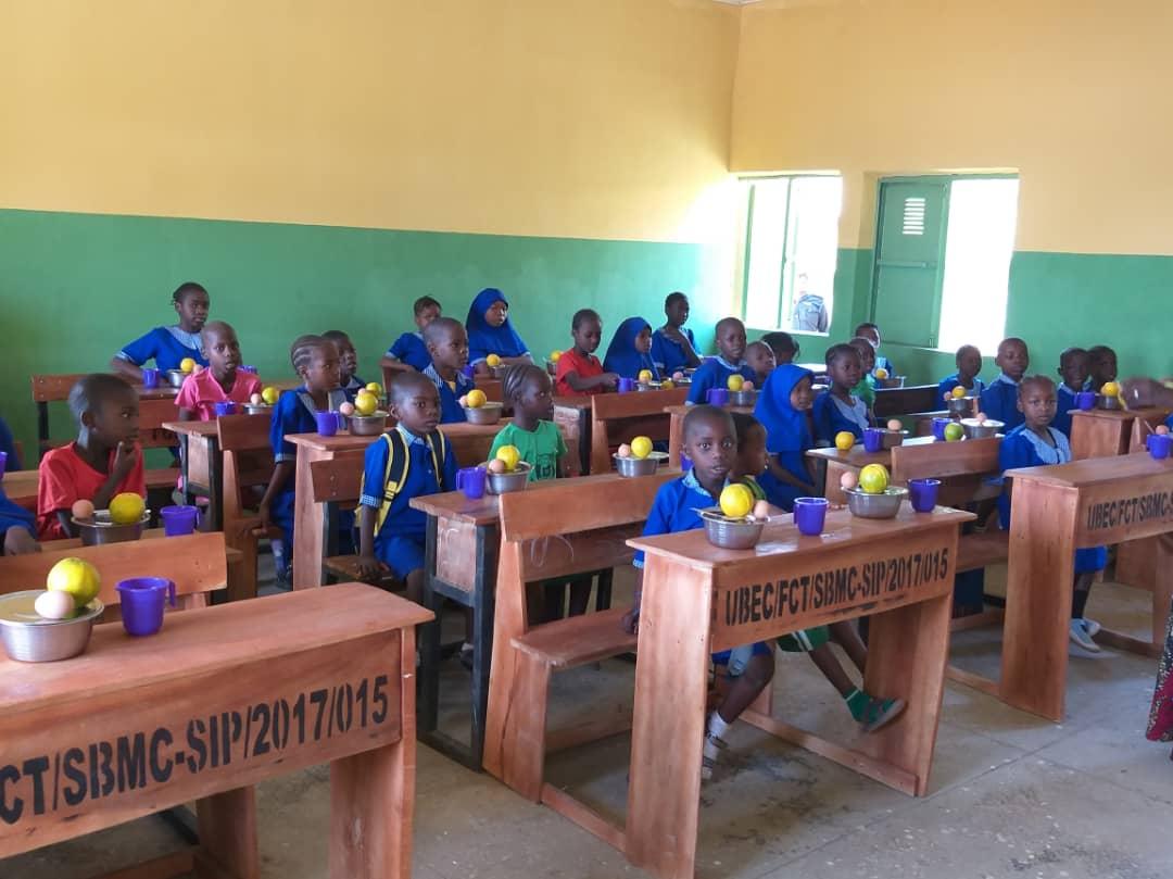 NHGSFP: FCT FLAGS OFF SCHOOL FEEDINGS.