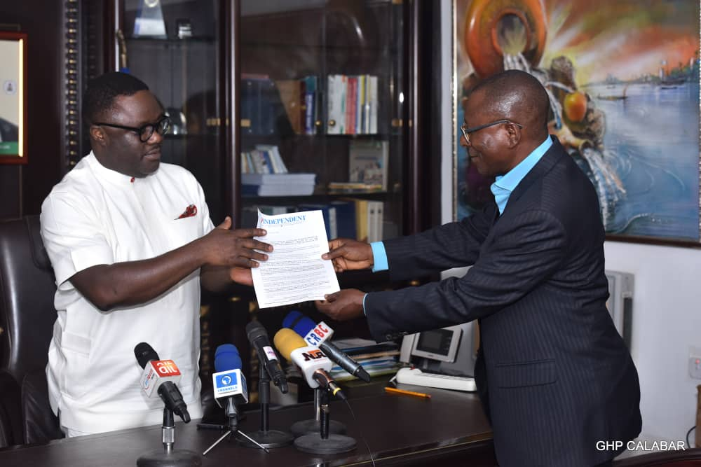 INDEPENDENT NEWSPAPER GOVERNOR OF THE YEAR, 2019 AWARD: BIGGEST CALL TO SERVICE-AYADE.