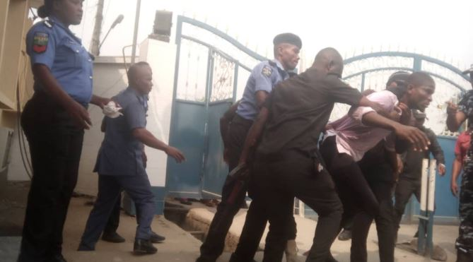 CRUTECH: Police Arrest Students Protesting Against Suspension Of Union Activities