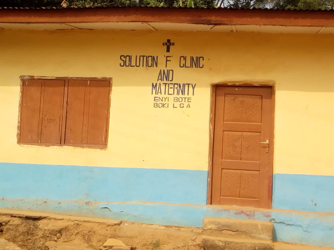 CRS MINISTRY OF HEALTH SHUT DOWN, SOLUTION F CLINIC AND MATERNITY IN BOKI FOR QUACKERY.