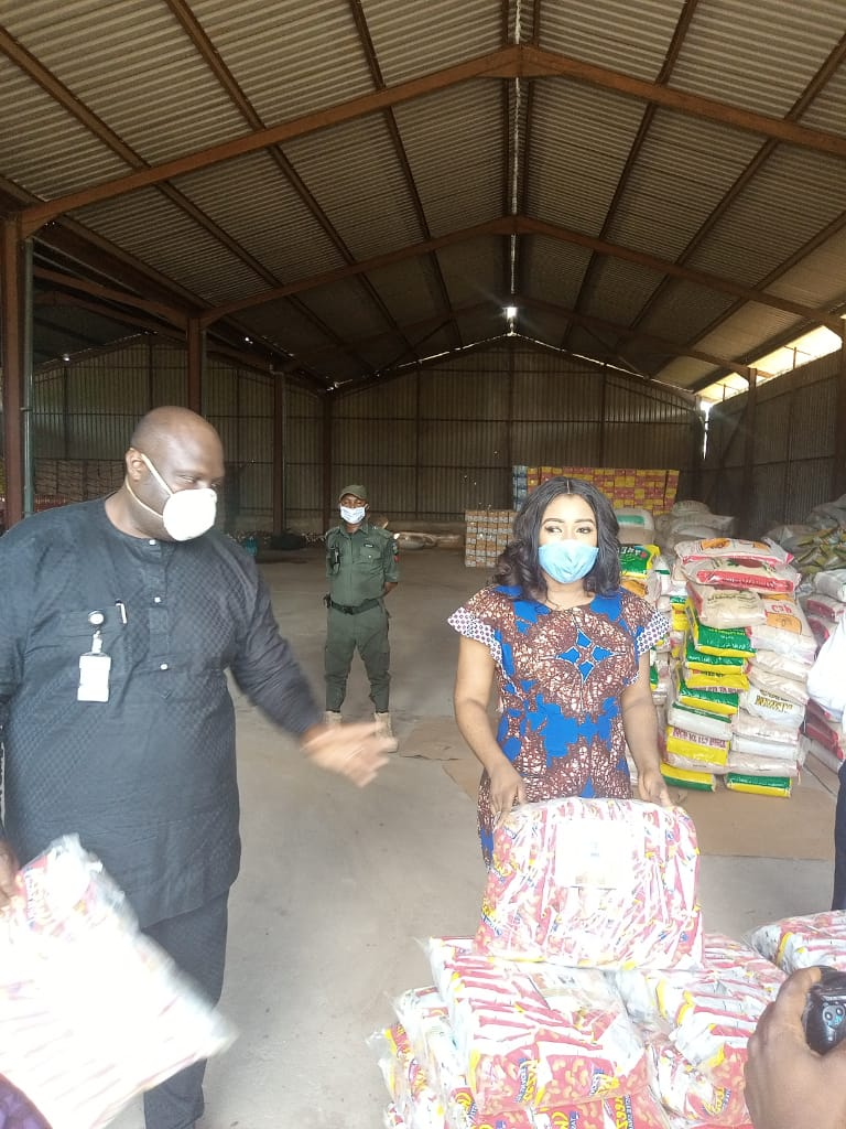 COVID-19: CRSG RECEIVES HUMANITARIAN AIDS FROM NIKSNAKS AND STIPPER NIG. LTD. RESPECTIVELY.