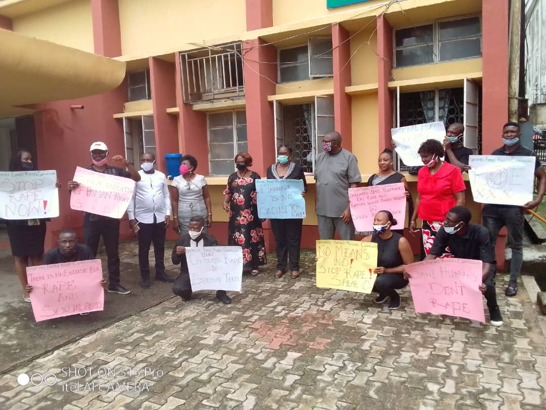 CROSS RIVER STATE MINISTRY OF INFORMATION AND NATIONAL HUMAN RIGHTS COMMISSION CALL FOR END TO RAPE.