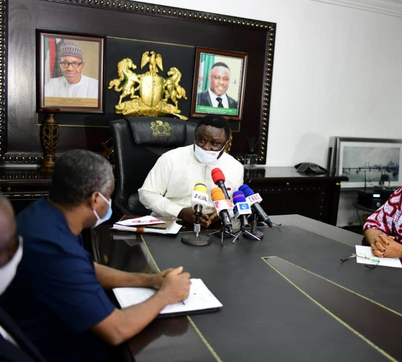 46,000 CAMERONIAN REFUGEES IN CRS: IN ALL WE DO AS A GOVERNMENT, WE MUST MAKE HUMANITY OUR FOCUS-GOV. BEN AYADE.