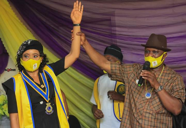 LION DR. INYANG ASIBONG INSTALLED 3RD PRESIDENT OF CALABAR ROYAL LIONS CLUB, VOWS TO PUT KINDNESS INTO ACTION.