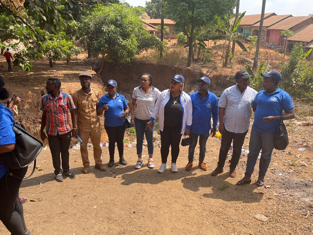 CRS EROSION CONTROL: NEWMAP COMMENCE CIVIL WORKS AT ITATE AND IGABA GULLY SITES, AND PROMISE PROMPT DELIVERY OF PROJECTS.