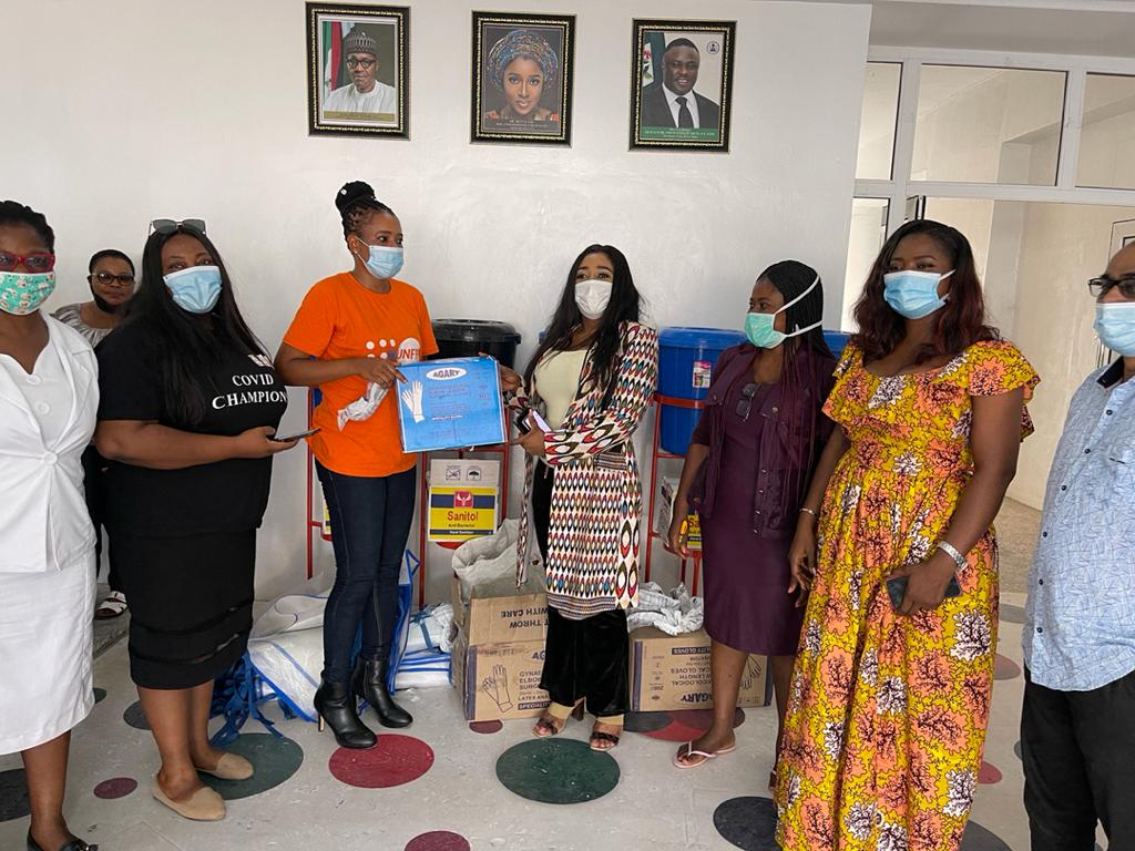 UNFPA DONATES PPE's TO CRSMoH TO TACKLE SECOND WAVE OF COVID-19 IN HOSPITALS.