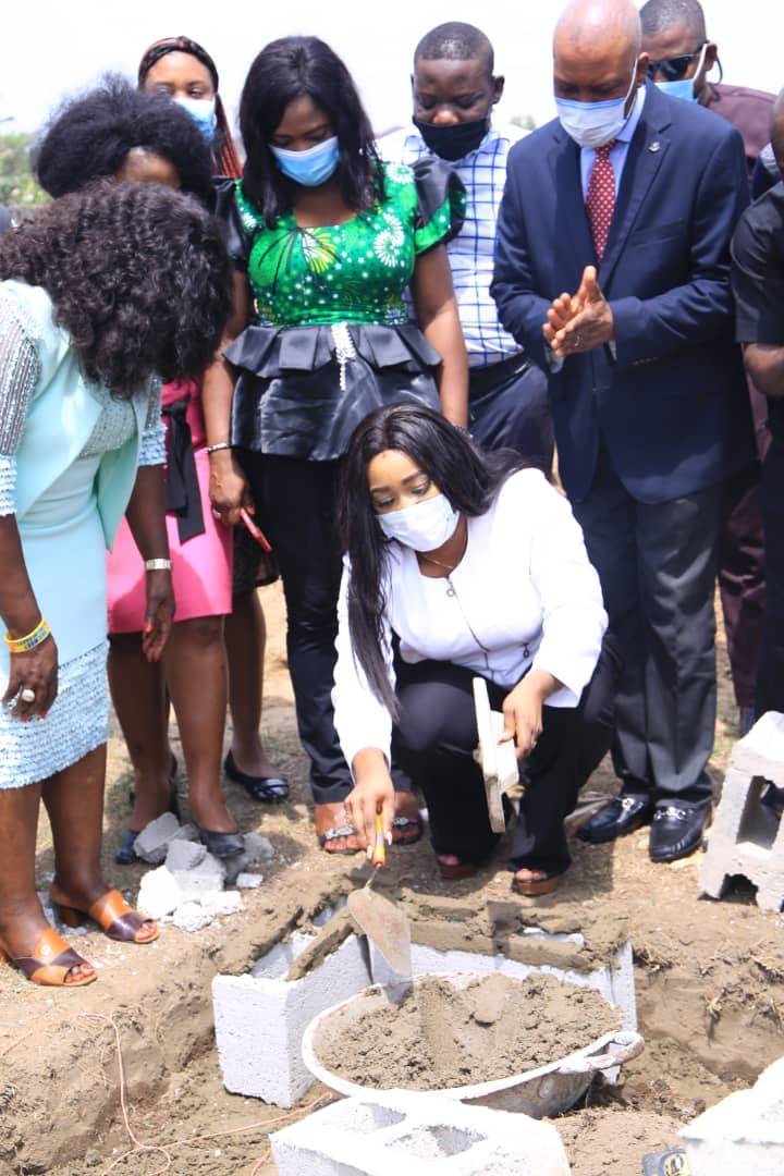 COVID-19: CROSS RIVER HEALTH COMMISSIONER, DR BETTA EDU PERFORMS GROUND BREAKING OF ULTRA-MODERN ISOLATION AND HOLDING CENTRE IN UNICAL.
