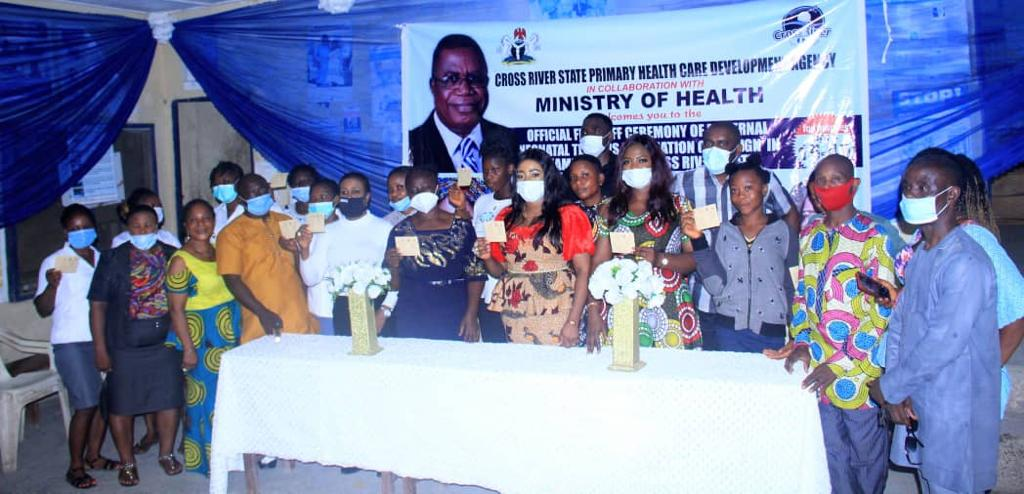 CRS FLAG OFF SUPPLEMENTARY MATERNAL AND NEONATAL TETANUS ELIMINATION CAMPAIGN.