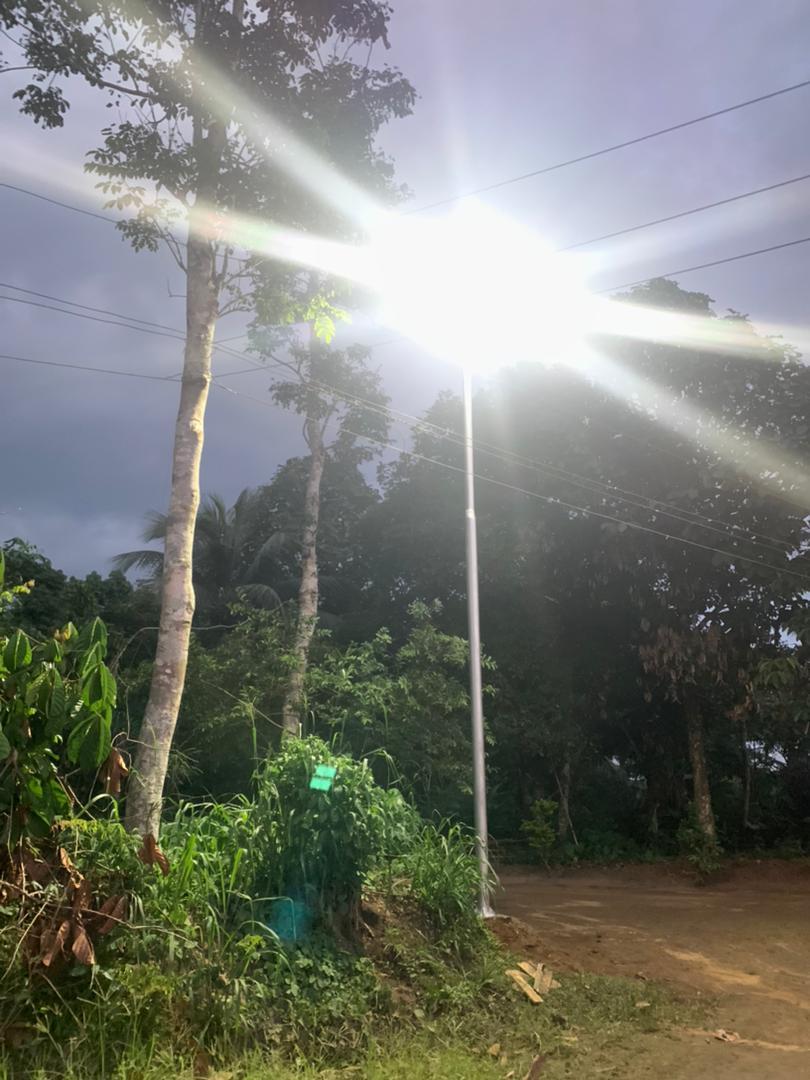 STREET LIGHTING: SEN. GERSHOM BASSEY LIGHTS UP AKPABUYO LGA