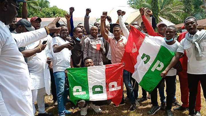 PDP-YAHE WARD CHAPTER REASSURES THE DOMICILIATION OF PDP IN THE WARD.
