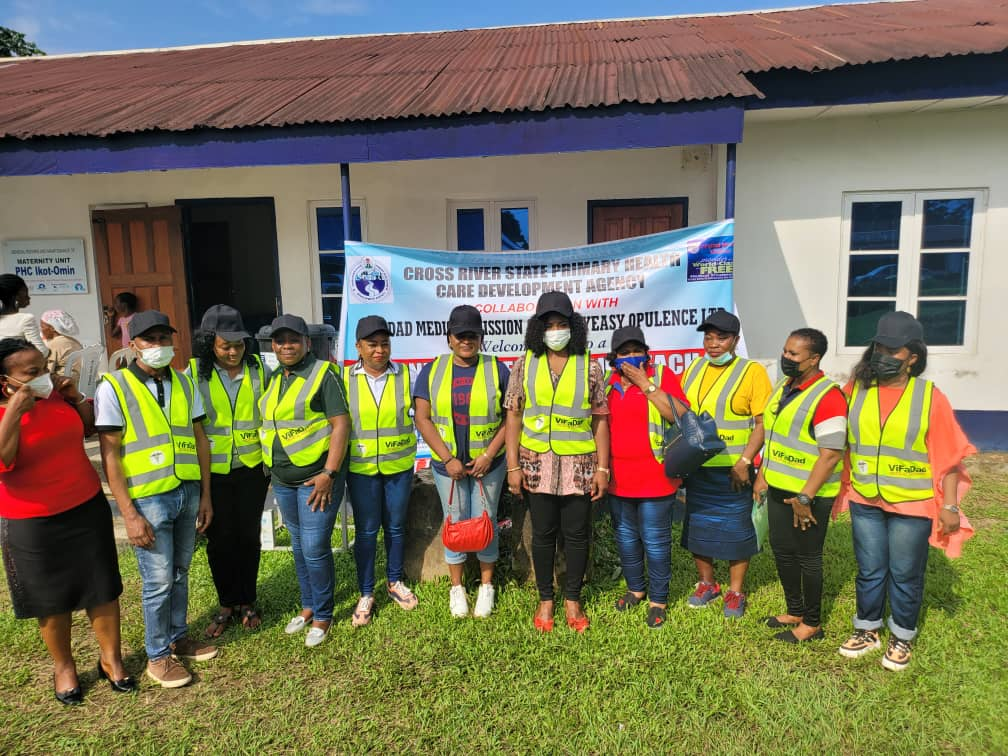 CRSG AND ViFADAD MEDICAL MISSION OFFER FREE MEDICAL SERVICES TO CALABAR COMMUNITY.