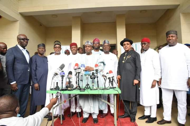 SECONDUS: TAMBUWAL SAYS PDP STILL UNITED, GOVS RESOLVE TO WORK TOGETHER.