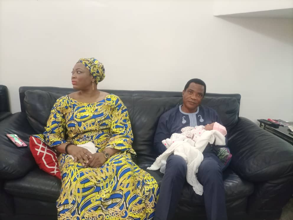 C/RIVER POLITICAL LEADERS CONVERGE ON ABUJA FOR HIGH CHIEF HIGGINS PETER'S CHILD NAMING CEREMONY.