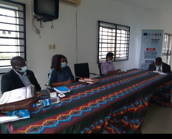 SPOTLIGHT INITIATIVE: JOINT MONITORING TEAM REPORT OF THE UN AND FEDERAL GOVT. COMMEND CRS GOVT. EFFORTS TO MITIGATE AGAINST GBV.