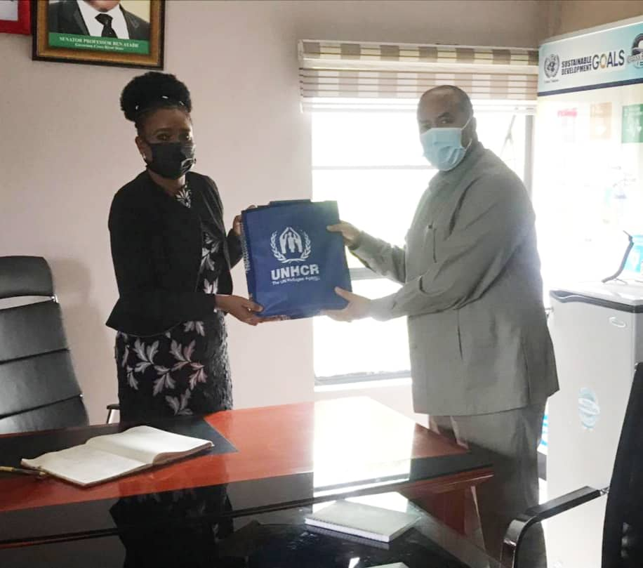 UNHCR PLEDGES TO STRENGTHEN HUMANITARIAN SUPPORT TO REFUGEES IN CROSS RIVER STATE.